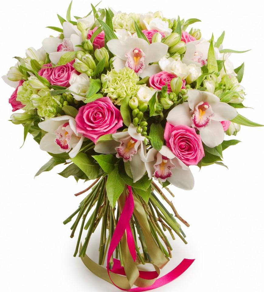 шикарные цветы букеты фото